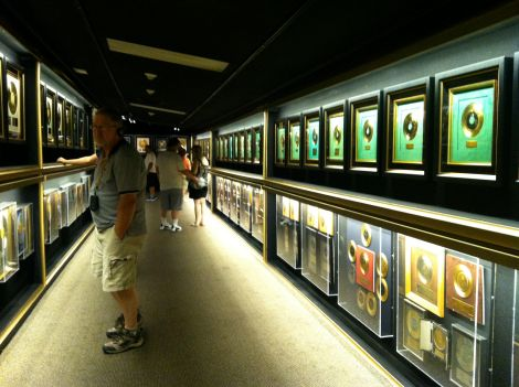 Graceland record room